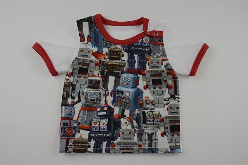 Robot shirt - Maat 62
