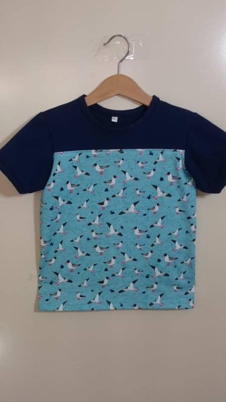 Meeuwen shirt - Maat 110