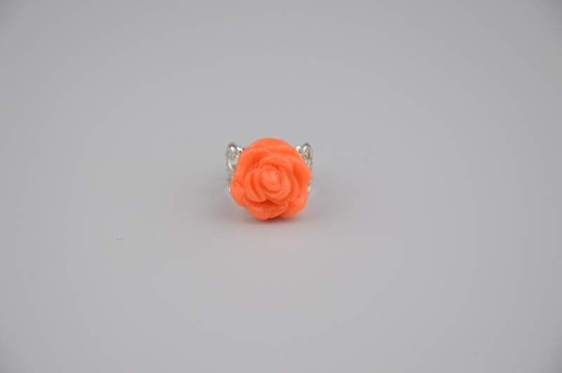 Neon orange ring