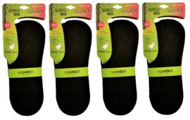 bamboe dames sneakerssokken maat 35-40  120 paar
