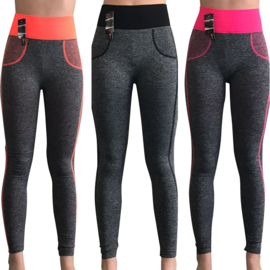 sportleggings (12 pack)