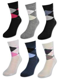 mooie fantasie dames sokken (120 paar)