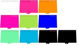 12 effen meisjesboxershorts (nieuwste kleuren)