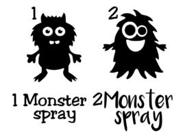 Sticker monsterspray