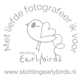 Sticker Earlybirds Fotograaf