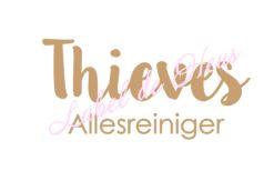 Label voor Fles 500 ml - Thieves Allesreiniger - 2