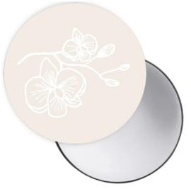 Spiegel Orchidee Creme