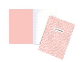 Schriftje A5 - Roze dots