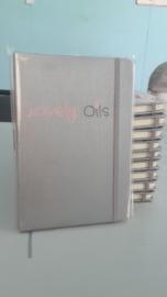 Notitieboek met logo of eigen tekst