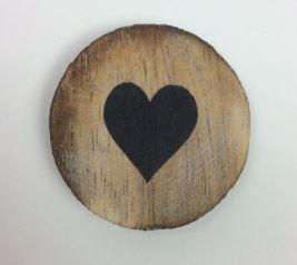 Magneet rond hart