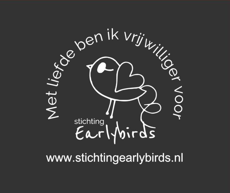 Zonnescherm Earlybirds Vrijwilliger