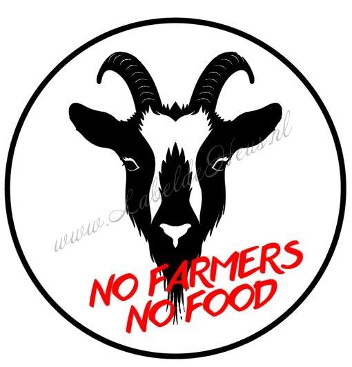No Farmer No Food Geit