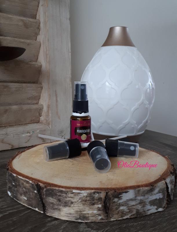 Spray kop  olieflesje