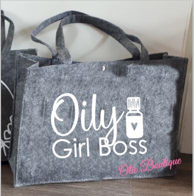 Vilten tas - Oily Girl Boss