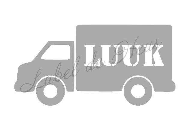 Koffertje vrachtauto