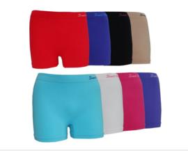Naadloos Microfiber Boxershorts Model Sweet Angel extra hoog en extra ruim  4 voor €10,-