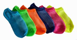 Kinder sokken colour 6 stuks € 4,95