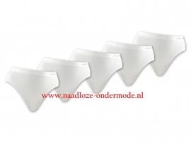 Naadloos Microfiber Taille Slips  Sweet Angel wit 4 voor €10,-