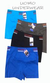 Naadloos Microfiber Boxershorts Uomo Clasic 4 voor €11,95