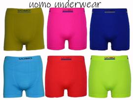 Naadloos Microfiber Boxershorts Uomo Colourband 6 pack €14,95