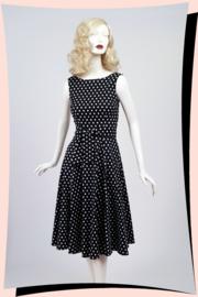 Frances Polka Dot Swing Dress