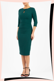 Ubrique Pencil Dress Forest Green