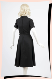 Keira Swing Dress Black