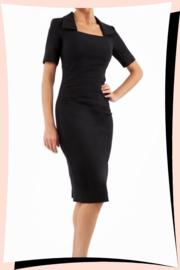 Sandown Pencil Dress Black