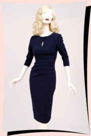 Ubrique Pencil Dress Navy