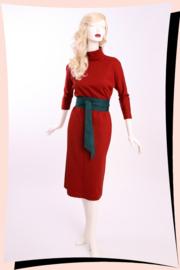 Grace Sweaterdress Roestbruin