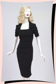 Sandown Pencil Dress Black