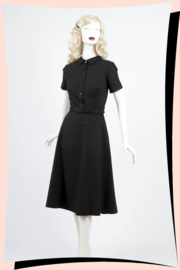 Keira Swing Dress Black