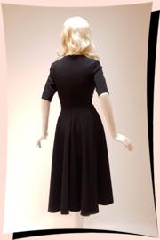 Myla Swing Dress Zwart