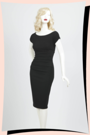 Polly Pencil Dress Black