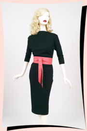 Sandra Pencil Dress Zwart
