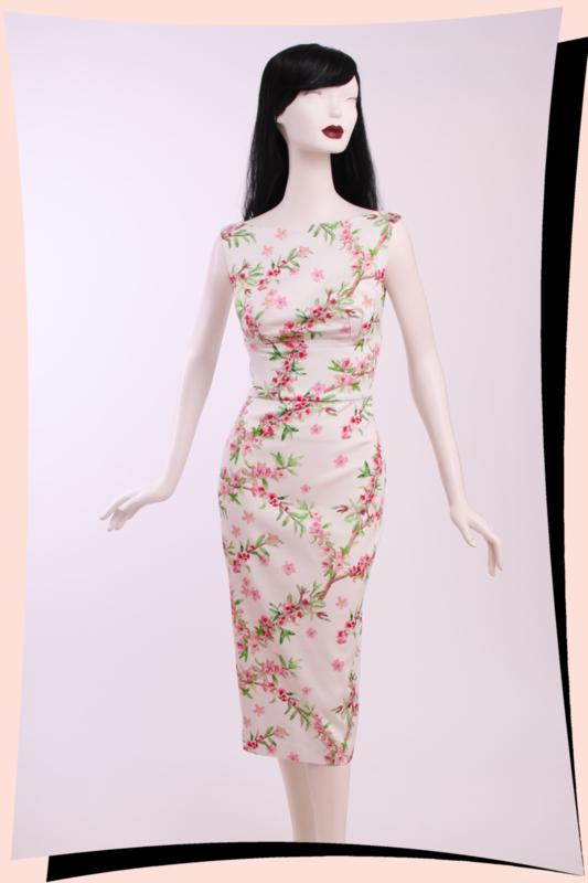 Tiffany Blossoms Pencil Dress