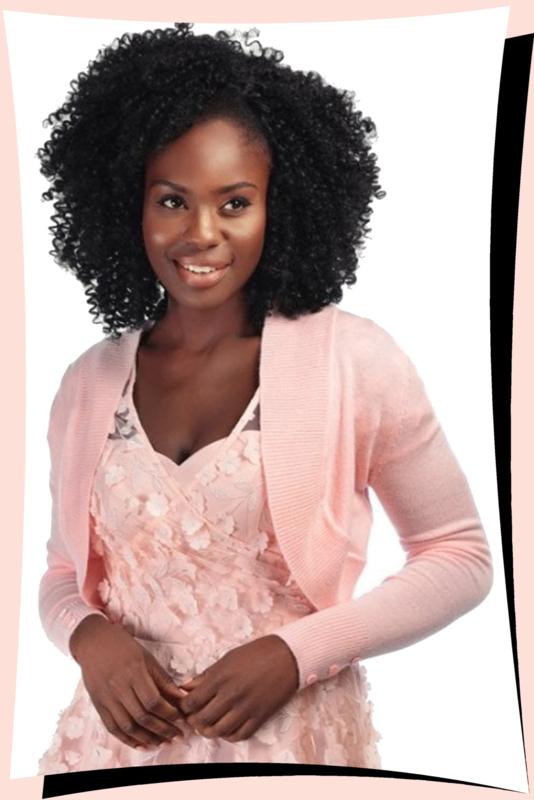 Jean Bolero Peachy Pink