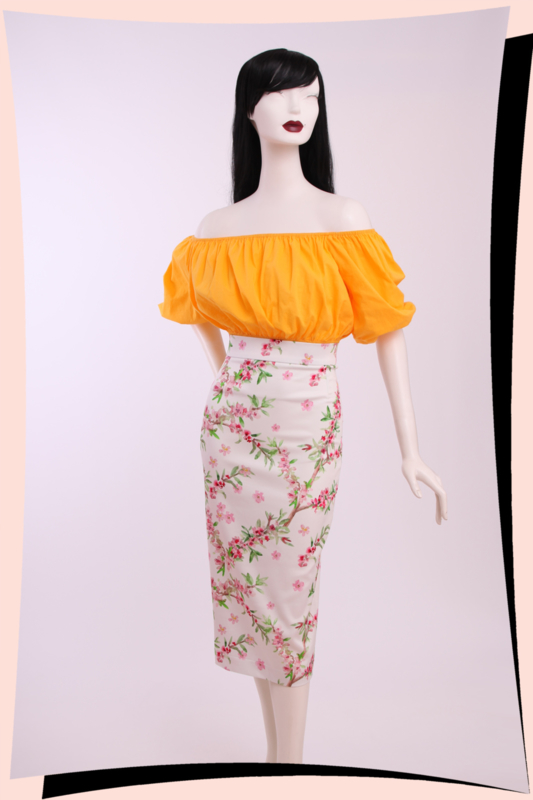 Long Island Blossoms skirt