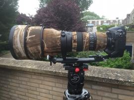 lenssteun voor Nikon 400mm F2.8 AF-S met steun tbv de converters 1.4x en 2.0x
