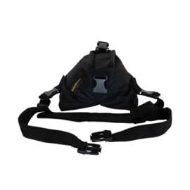 Beanbag 1, Saddle & Belt, Black