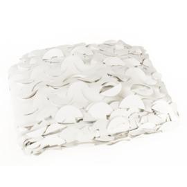 Camouflagenet wit/grijs 2,4 x 3 m