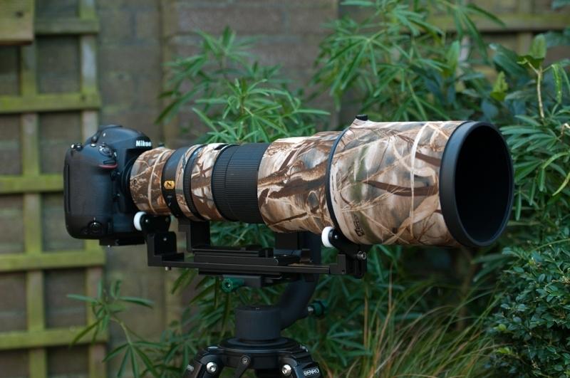 lenssteun voor Nikon 500mm F4.0 AF-S VR lage voet