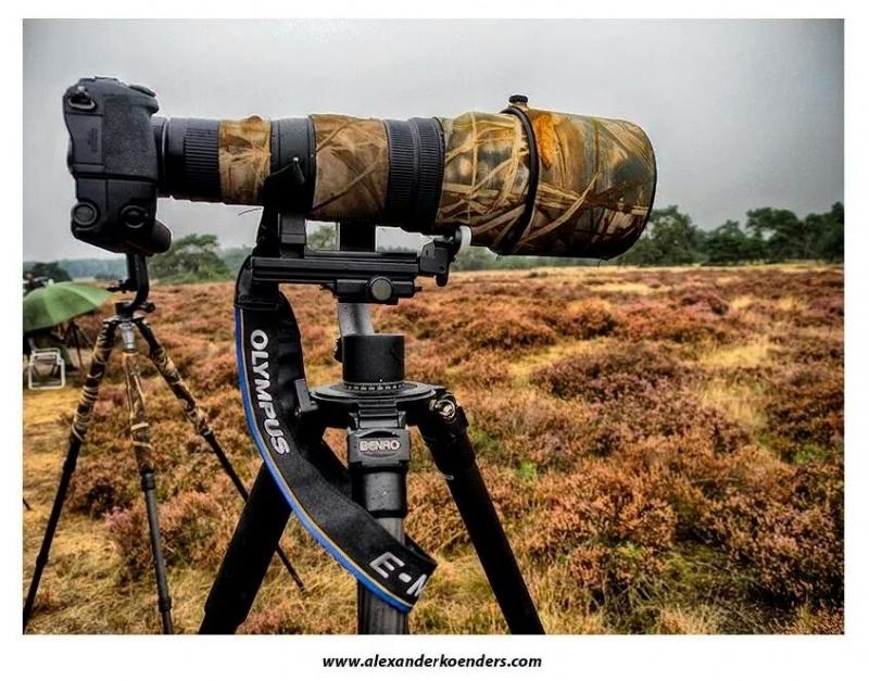 Lenssteun voor de Olympus Zuiko Digital ED 300mm f/2.8 objectief