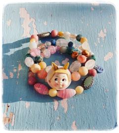 Armbanden set van 3 - Lapin doll