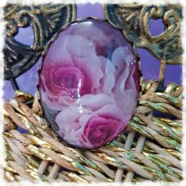 Ring - Roze rozen