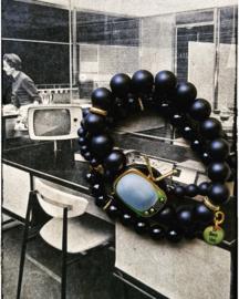 Armbanden set van 3 - Vintage tv