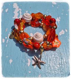 Armbanden set van 3 - Sunset beach