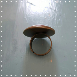Ring - Dahliaveld brons