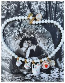 Ketting - Porseleinen servies  - You're my  cherry on top