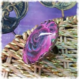 Ring - Purper roos